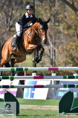 Will Dight from Northern NSW, who trains with Tom McDermott riding his , 'Thea' for the Takapoto Estate NZ team added just one time penalty in the first round of the inaugural Australian Teams Jumping League competition.