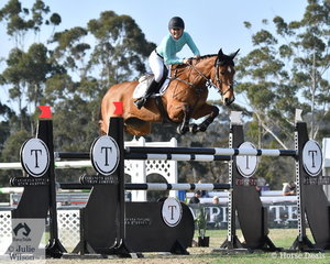 Jess Tripp posted a super double clear riding her, 'Diamond B Verona' to help the Emcee Team win the inaugural Australian Teams Jumping League competition.