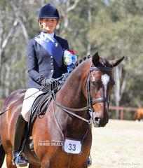 Champion Rider 26 years & over Alyssa Walsh.