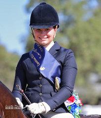 Sarah Samsa was the Champion RIder 18-25 years.