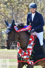 Michelle Lang-McMahon, a co fouder of the AJTL, still has her hand in the game. She is pictured abaord her daughter, Maleah's, 'KS Rubellite' by Emerald out of a daughter of KS Genoa that won the Oaks Sport Horses 4 Year Old Final on the last day of the 2019 Willinga Park Showjumping Championships.