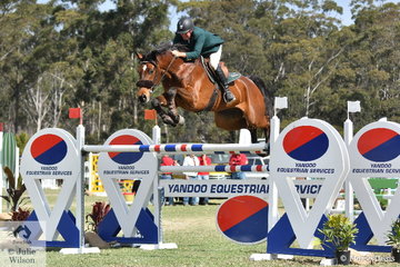 Chris Chugg and his 'PSS Levilensky' (Levisonn/Cornetta) demonstrated today just why they are in contention for Tokyo Olympic selection. They jumped two super rounds and the fastest in the second round of the two double clears to win the $25,000 Willinga Grand Prix first prize.