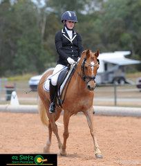 As the final day of the QLD State Dressage Championships rolls around, Jade Wilkinson and Benjamin Button Esquire execute a beautiful test in the Pony Elementary class.
