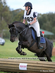 "Winners in the Grade 5 Section 1, Kira Tucker from Macclesfield Pony Club riding ""Milton"""