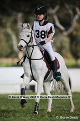 "Winners in the Grade 5 Section 2, Ella Reynolds from Pakenham Pony Club riding ""Warranwood Preview"""