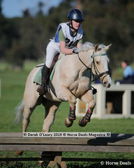 "2nd place in the Grade 4 Section 1 went to Lily Adams from Barwon Valley Pony Club riding ""Puff the Magic Dragon"""