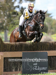 "Justine Boyd placed 6th in the Grade 1 representing Colac Pony Club riding ""Electrix"""