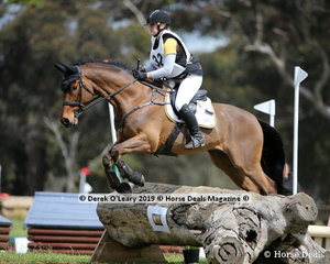 """2nd place in the Grade 2 Section 1 went to Katelyn Thompson from Langwarrin Pony Club riding """"Kendalee Gangster"""""""