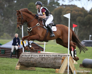 """Brooke Thompson from Seville placed 5th in the Grade 3 Section 2 riding """"Mazurka Mist"""""""