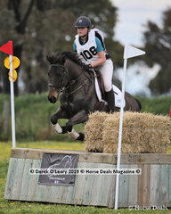 """2nd place in the Grade 3 Section 2 went to Zoe Warner from Main Ridge Pony Club riding """"Linbil Orbit"""""""