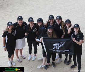 The New Zealand team have travelled across the Tasman Sea to compete for the first time at the 2019 Australian Interschool Nationals held at the Sydney International Equestrian Centre.