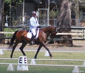 David Walker  and Spellbound Bronze medal in the Prelim