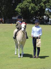 Scarlett James was winner of the Leadline Rider