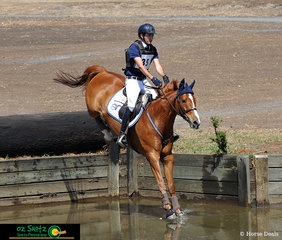 Just touching down on the water Jedd Johnstone and Bellhaven JTaime had a great run in the CCI Three star at Toowoomba ODE on the weekend. Jedd and Bellhaven JTaime are now based at Rangeview Equestrian managed by Ross Smith and Matt Gaske.