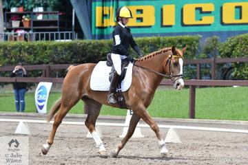 Western Australian rider Georgia Lowry rode Zia Park Classic to fifth place in Event 1 of the Novice Dressage.