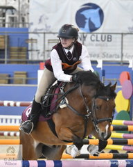 Lucy Griffiths from Qld and her Mt. Moy Snippets were just out of the placings in the Sub Junior Showjumping Event 1. However, the showjumpers have two more events to go to determine the Champions.