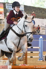 Queenlander, Tayla Wallace riding Barlow Park Too Easy took out fifth place in the Junior Showjumping Event 1.