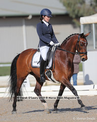 """Anna Bolmat placed 2nd in the Advanced Championship riding """"Bette Valentine"""" with a score of 29 points"""