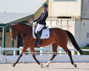 """Ailish Hill placed 2nd in the Preliminary Championship riding """"Long Park Secret Agent"""" with a score of 29 points"""
