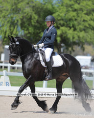 "Nichola Payne placed 2nd in the Novice 2a/2b Championship on Saturday riding ""Abby of Blackwood"""