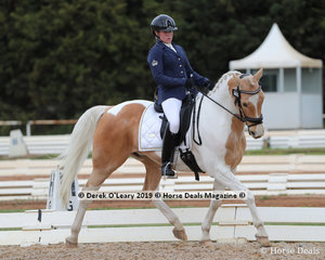"Louisa Inge placed 6th in the Medium 4B on Sunday riding ""Road to Jamieson"" with a score of 63.108%"