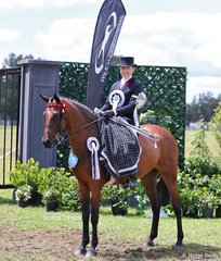 Rebekah Bennett was the Chapion Rider 21-30 years.