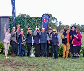 Here's cheers to a successful long weekend! Enjoying a well deserved glass of bubbly at the end of the show are some of the hard working crew. Pictured are Lyndsey Douglas, Demi Linton, Rob Fuller, Tina Harding, Di Godfrey, Michele Sams, Jo Maunder, Robin Bland, Helen Kirton, John Paget, Ian Stewart and Roseanne Bowerman.