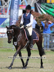"""Sebastian Bellamy rode """"Fairfield Iiyasviel"""" in the HRCAV Rider Advanced/Level 1/Level 2. They also won Reserve Champion in the Led Horse Class."""
