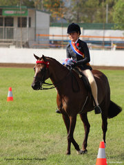 Champion Junior Rider Amica Ware