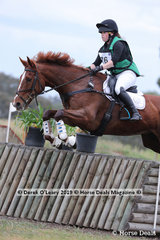 Kenlock Casino Royale ridden by Emilia Jones in the CCN1*-SA
