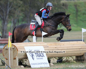 """Harry Luxmoore placed 2nd in the CCN1*-SA riding """"Bells N Whistles"""" with a final score of 36.4"""