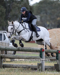 Icarus Sarah ridden by Nicki Paxton placed 5th in the CCN1*-SA with a score of 37.3