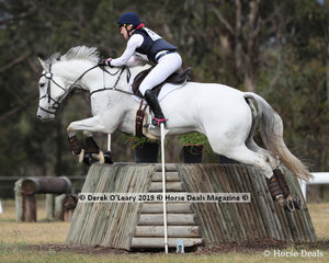"""""""Cassilis Park Pepper"""" placed 2nd in the CCN1*-SB ridden by ellyse Davis, with a final score of 35.5"""