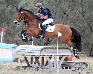 """Winners in the CCN2*-SA, Andrew Cooper and """"Hey Arnold"""" with a final winning score of 34.5"""