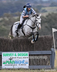 """Natalie Davies placed 2nd in the CCN2*-SA riding """"Equine Affair Eclipse"""" with a final score of 36.2"""