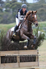 """Sophie Fox placed 4th in the CCN2*-SB riding """"Sparrow"""" with a final score of 43.7"""