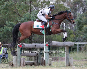 """Usman Khan placed 2nd in the CCN3*-S riding """"Azad Kashmir"""" with a final score of 31.7"""