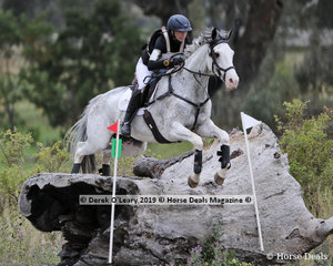 """Bianca Sigismundi placed 3rd in the CCN3*-S riding """"Royal Chanel"""" with a final score of 32.7"""