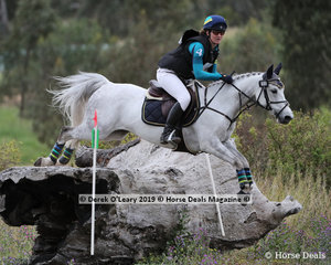 "Claire McDermott and ""Diablo Descarado"" in the CCN3*-S"
