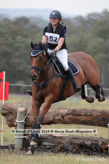 Winners of the EvA95A, Katie Slocombe and Peninsula Park Joker with a winning score of 33.3