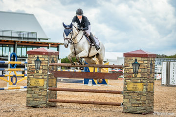 Frida Lindgren and the Lever Equestrian owned City Lights placed a credible thirteenth in the Interpath Mini Prix with a second round time of 51.01 but had two rails down
