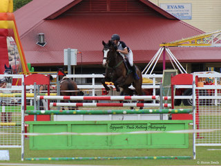 Showjumping was well supported throughout the show