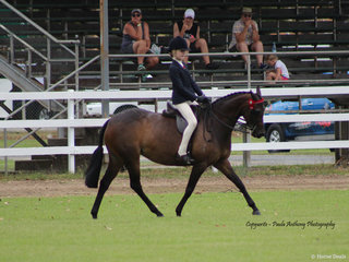 Champion Junior rider Kaitlyn Phillips