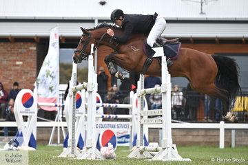 Popular Victorian rider, Wes Joyce had Team Joyce jumping on the sidelines as he posted a double clear aboard his Vivant gelding, 'Oaks Volta' to take second place in the 2019 Keirnan Plant Hire Future Stars Final.