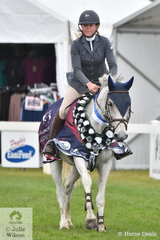 Charly Robinson-Smith rode away with the Pearl Series Final riding, 'Wyann Shadow'.