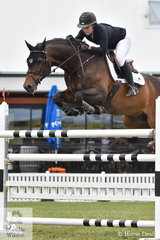Isabella Evans rode , 'Joker' to take ninth place in the 2019 IRT Young Rider Australian Championships.
