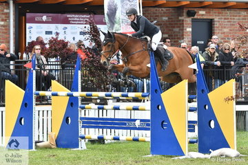 Successful Young Rider, Jess Tripp from NSW jumped a double clear riding her Vivant mare, 'Diamond B Verona' to take  equal seventh in the 2019 IRT Young Rider Australian Championships.