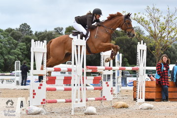 Former international eventing rider, Sharon Ridgway from Victoria rode 'King Vassie' to take seventh place in the 2019 Racing Victoria Australian OTT Championships.