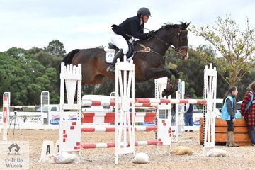 Grand Prix rider and chef, Katie Clarke from Mortlake in Victoria rode 'Otos Been Good' to take sixth place in the 2019 Racing Victoria Australian OTT Championships.