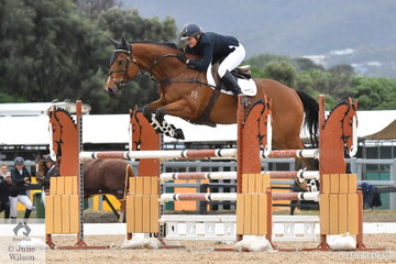Former World Cup winner, Tinky Konecny rode her, 'Hot And Spicy' to take fifth place in the 2019 Racing Victoria Australian OTT Championships.